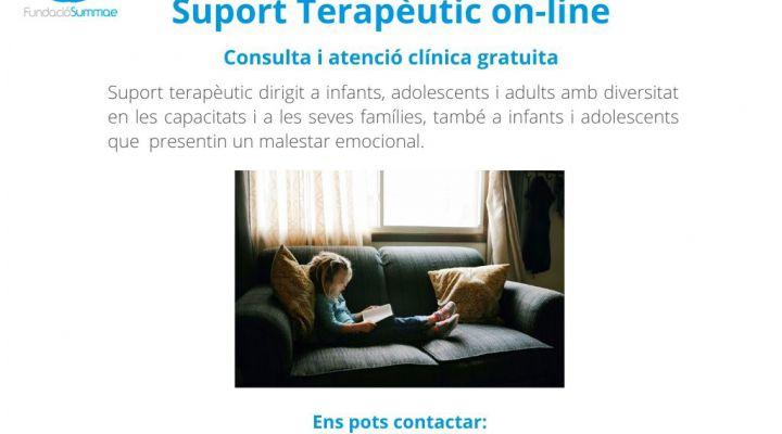 Soporte terapèutico on-line gratuito